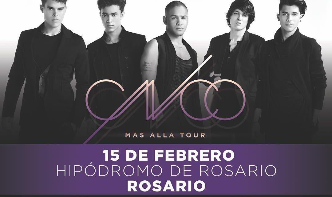 CNCO en Rosario