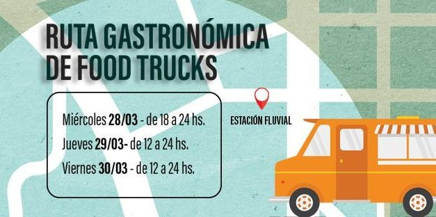 """Primer """"Festival de Foodtrucks"""" del 2018"""