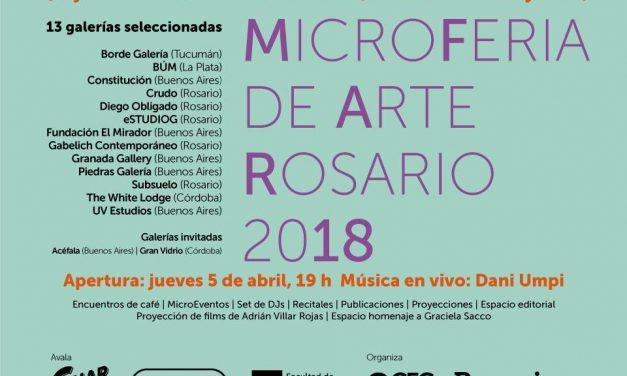 Segunda MicroFeria de Arte Rosario