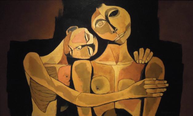Se presenta una muestra de pinturas de Oswaldo Guayasamín