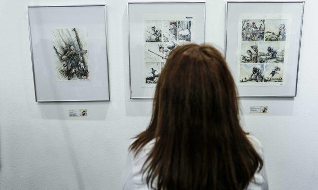Muestra de dibujos del rosarino Carlos Barocelli
