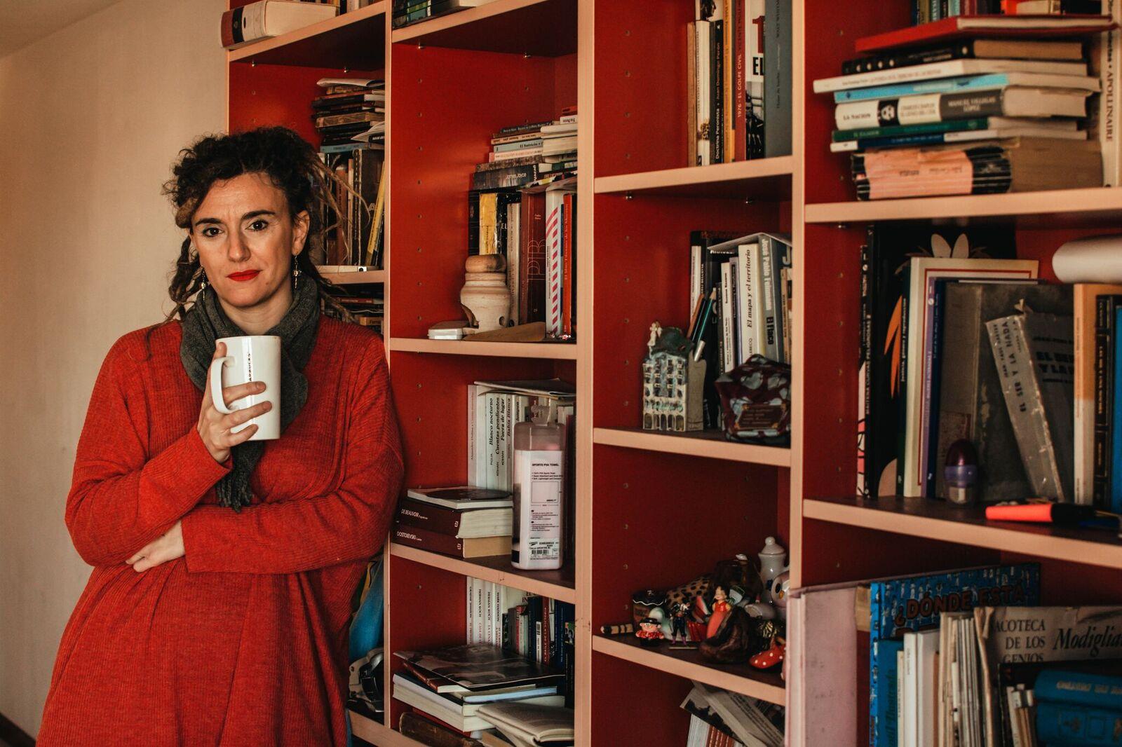 Carla Saccani presenta su libro Trece
