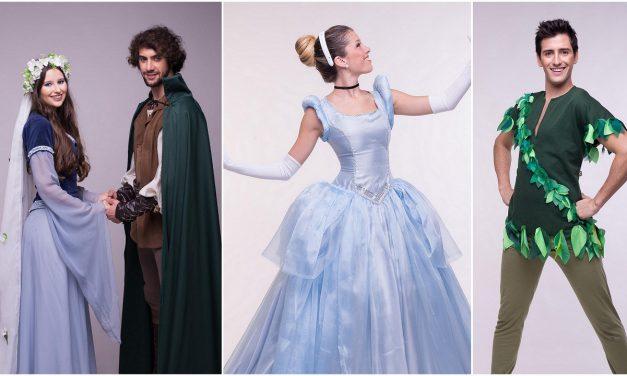 Peter Pan, La Cenicienta y Robin Hood