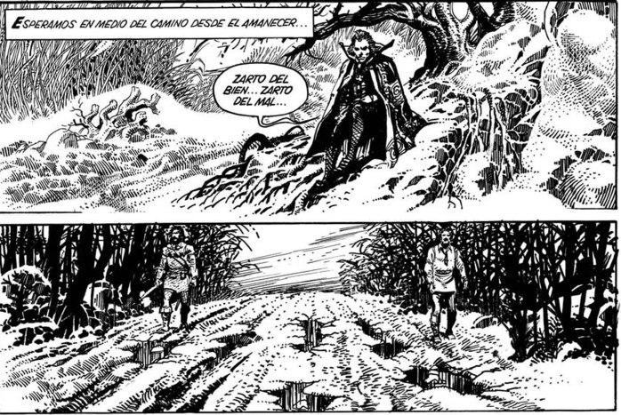 Muestra Horacio Lalia y la historieta argentina