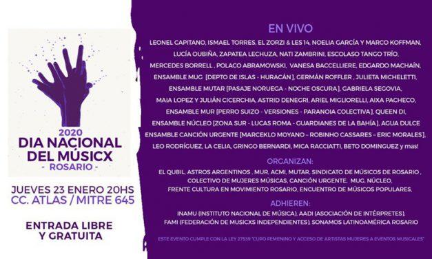 Día Nacional del Músicx en Rosario