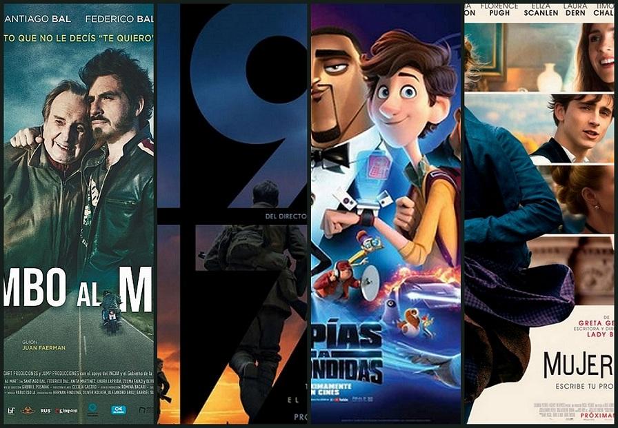 Estrenos de cine jueves 30 de enero de 2020