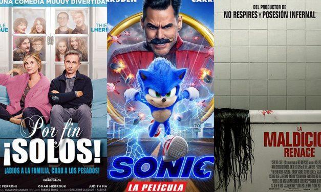 Estrenos de cine jueves 13 de febrero de 2020