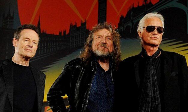 Concierto de Led Zeppelin en YouTube