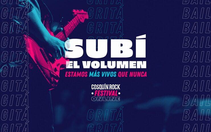 Se viene el Cosquín Rock 2020 online e interactivo