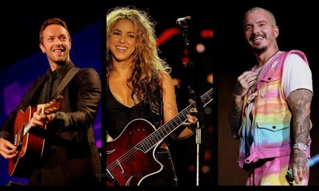 Recital solidario con Shakira, Coldplay y J Balvin