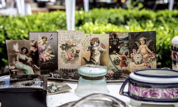 Convocatoria para la Feria de Pulgas en la plaza Las Heras