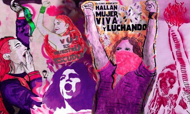 Fugas: propuestas de mujeres simbolizadas en el marco por el #8M