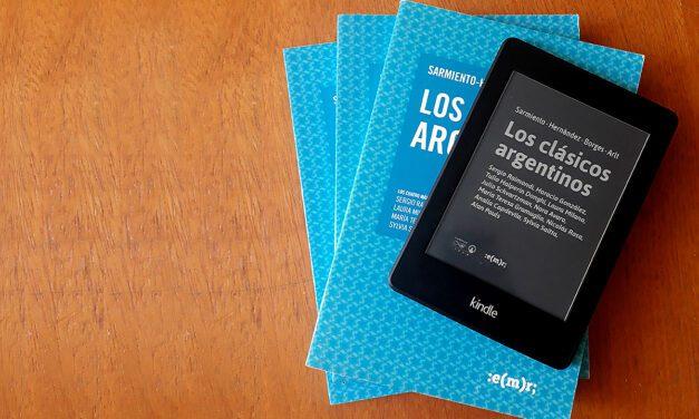 El libro Los Clásicos Argentinos está en formato e-book