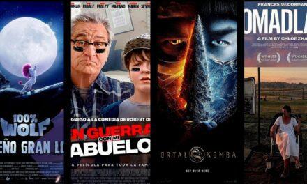 Estrenos de cine jueves 15 de abril de 2021