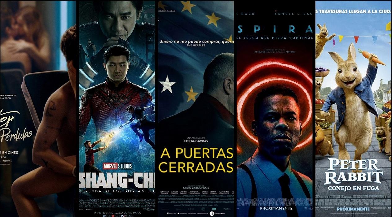 Estrenos de cine jueves 2 de septiembre de 2021