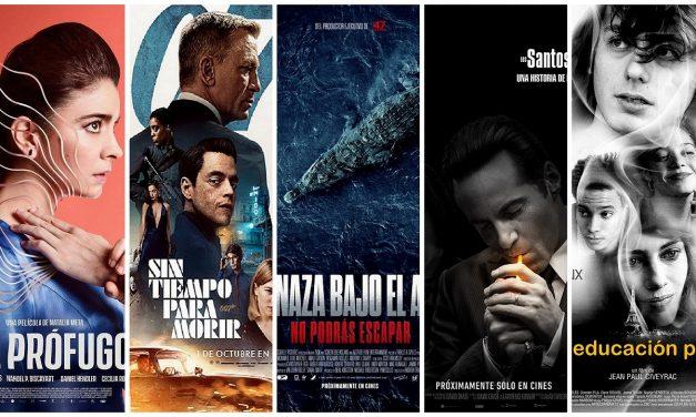 Estrenos de cine jueves 30 de septiembre de 2021